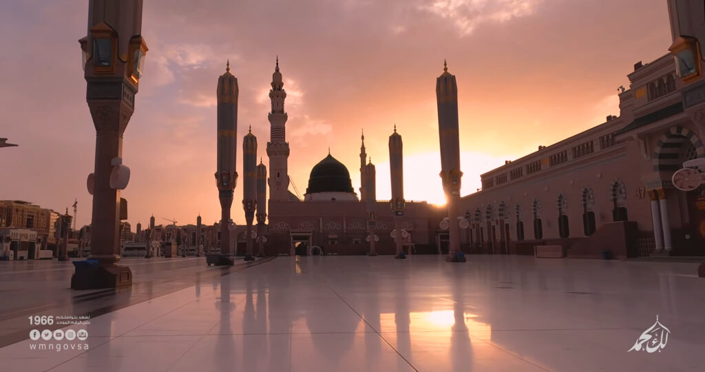 Featured Image - Video Eid-ul Fitr 2020 Takbir from Masjid Al-Nabawi, Madina