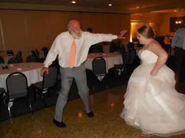Katie & Her Dad dancing