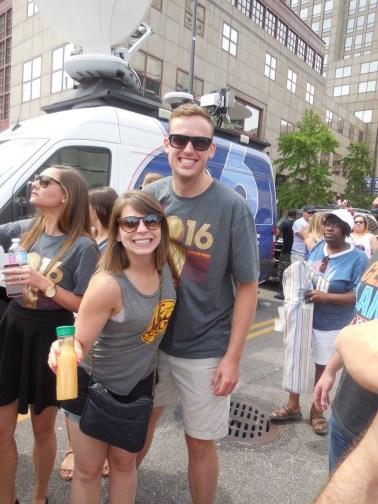 June - Cavs Parade!