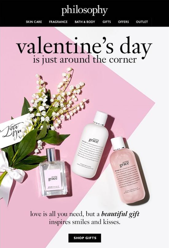 Philosophy Valentine email
