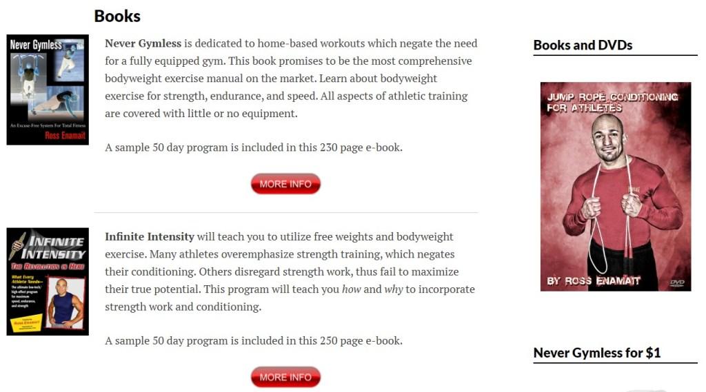 RossTraining ebooks