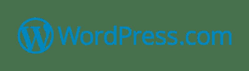 WordPress.com blogging platform logo