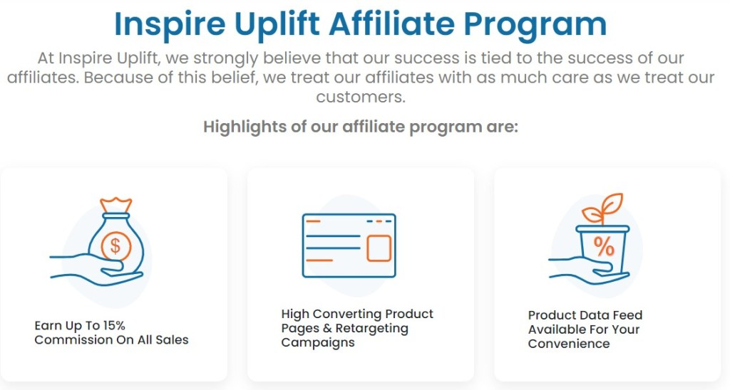 InspireUplift affiliate program