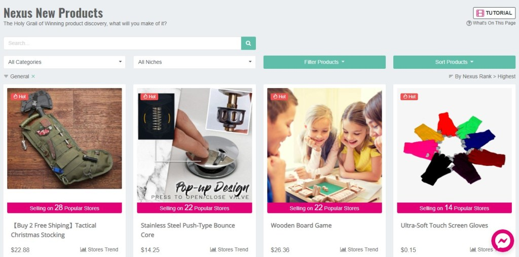 Nexus new products