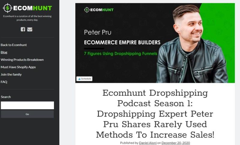 Ecomhunt Blog