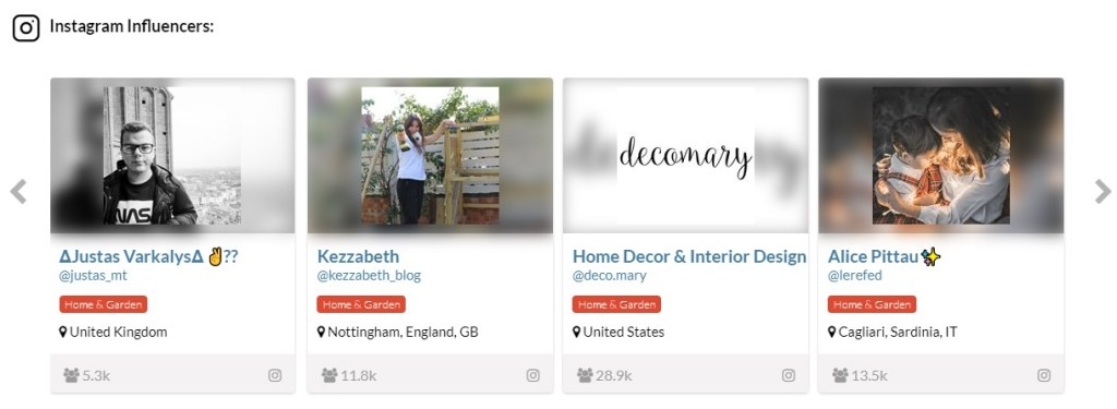 Ecomhunt Instagram Influencers