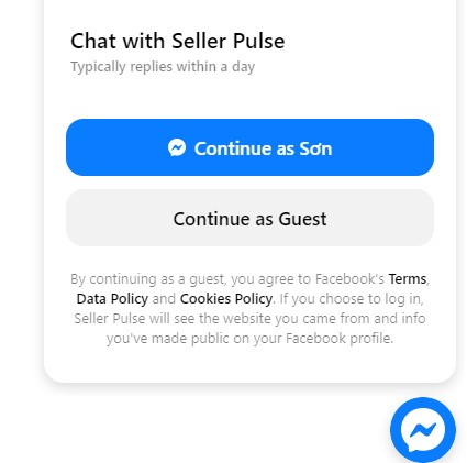 Seller Pulse Chat Support