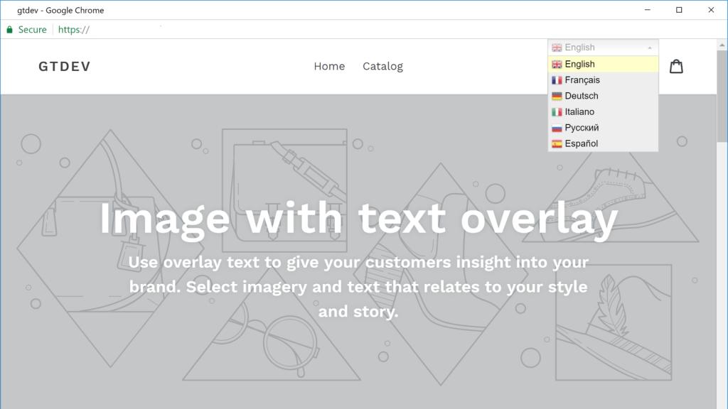 GTranslate free Shopify app