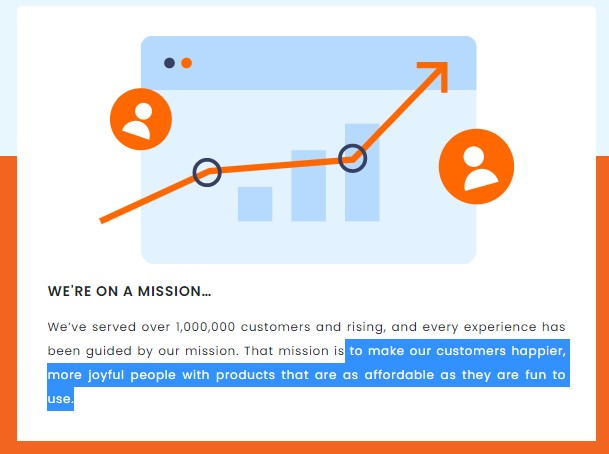 Inspire Uplift mission