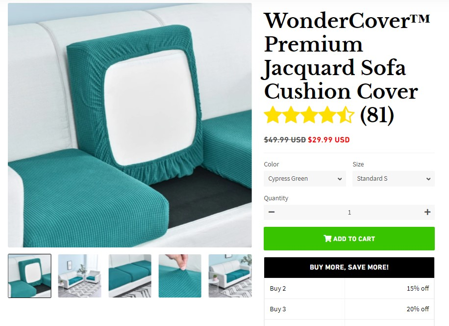 WonderCover dropshipping product