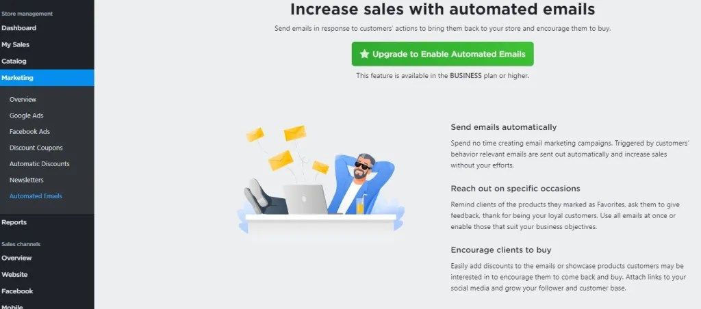 Ecwid automated emails