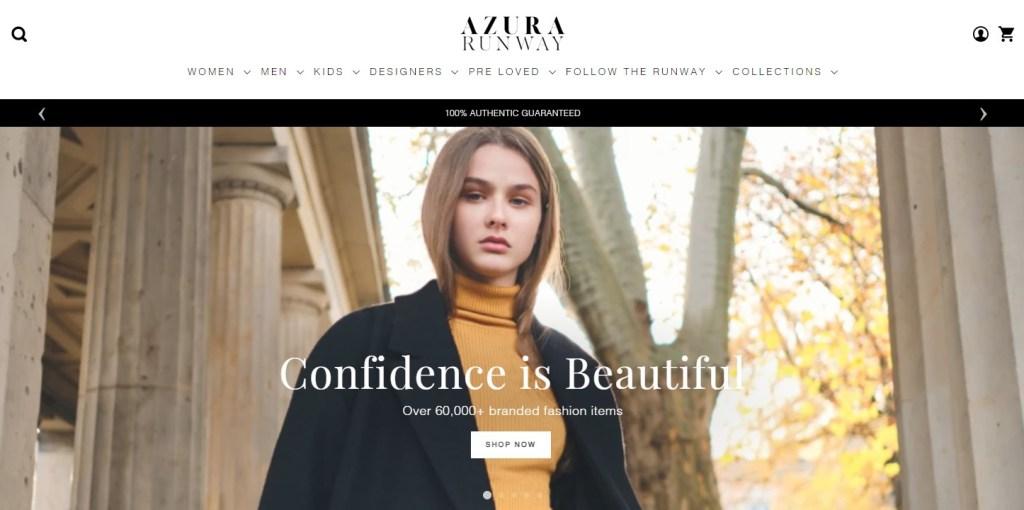 Azura Runway clothing dropshipping store