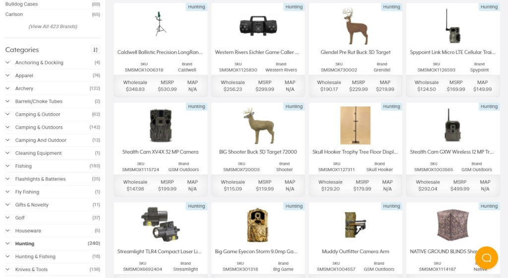 Inventory Source for high-ticket dropshipping
