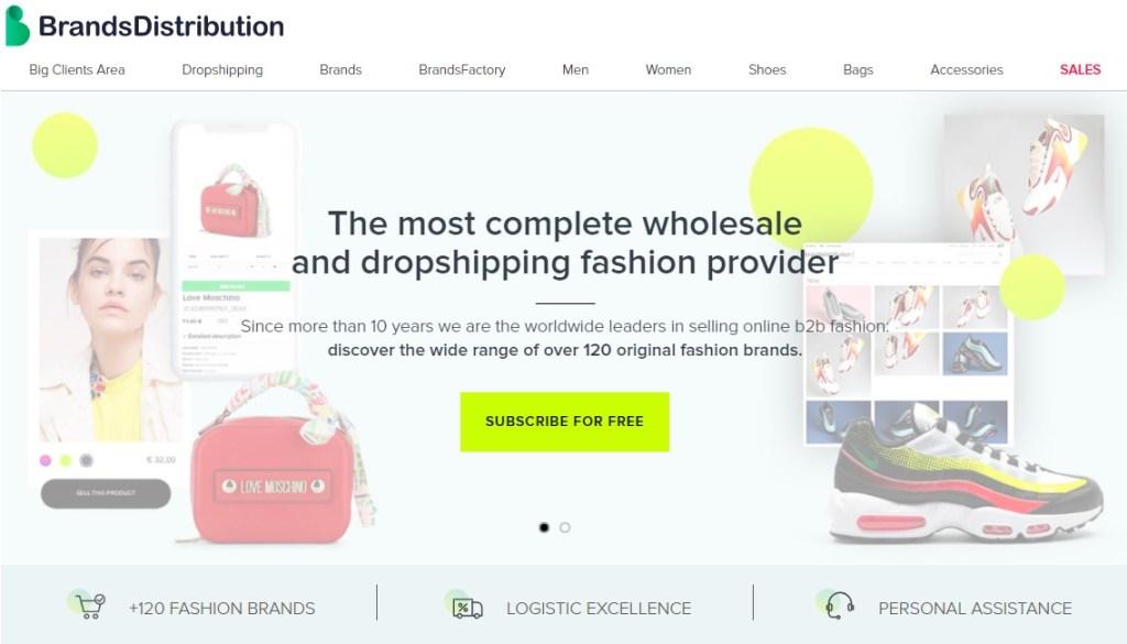 BrandsDistribution luxury & premium dropshipping supplier