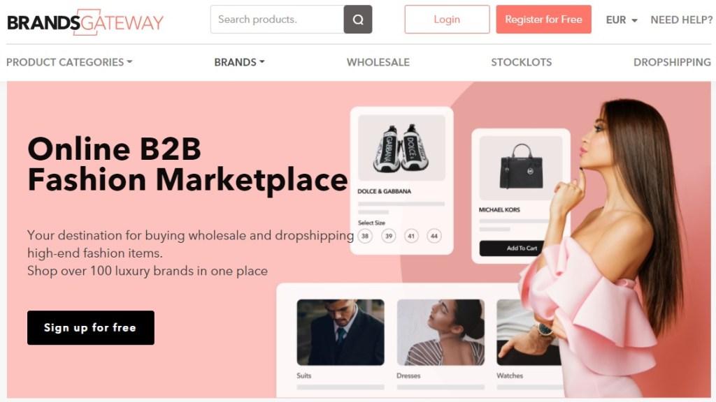 BrandsGateWay luxury & premium dropshipping supplier