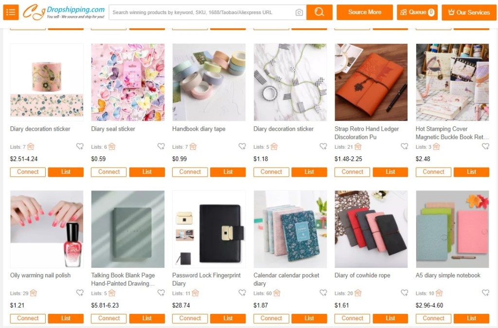 Notebook dropshipping products on CJDropshipping