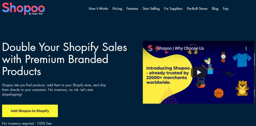 Shopoo non-Chinese dropshipping supplier