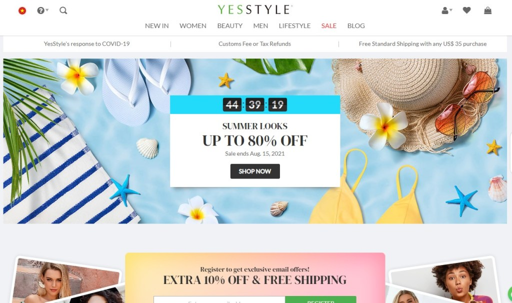 YesStyle - Alternative to DHgate