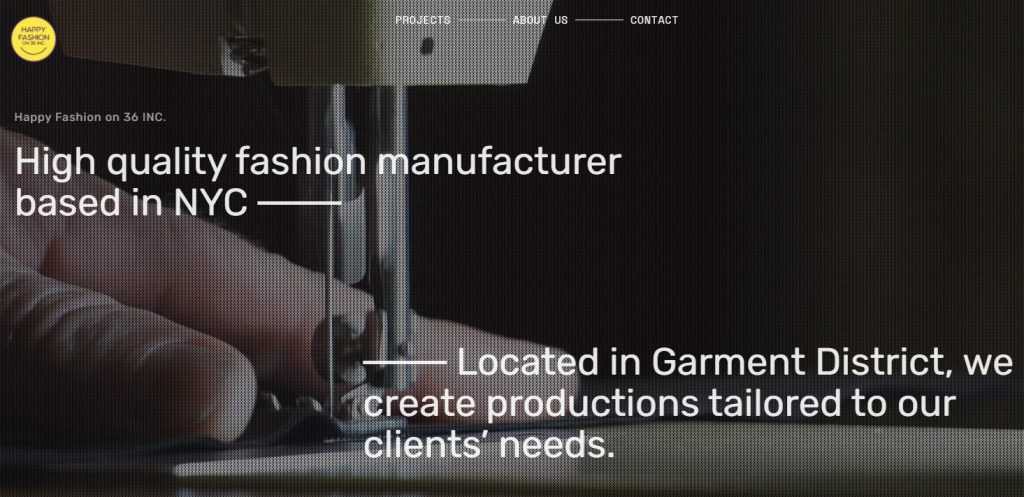 HappyFashion36 fashion clothing manufacturer in the US