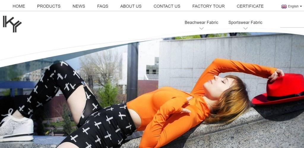 KuanYangTex fashion clothing manufacturer in China