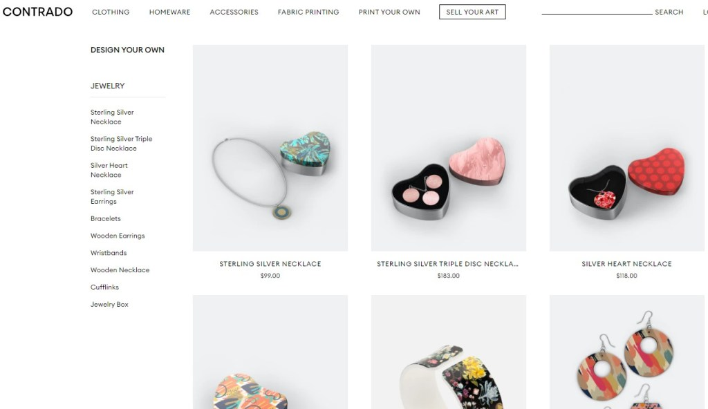 Contrado jewelry & watches print-on-demand dropshipping supplier