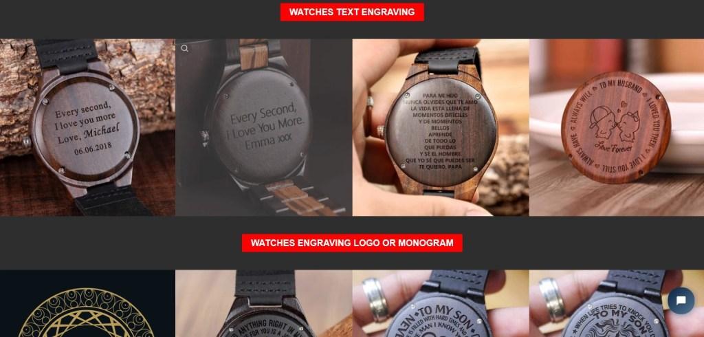 BoboBird jewelry & watches print-on-demand dropshipping supplier