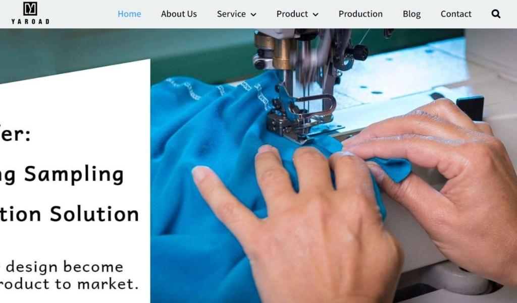 Yaroad fashion clothing manufacturer in China