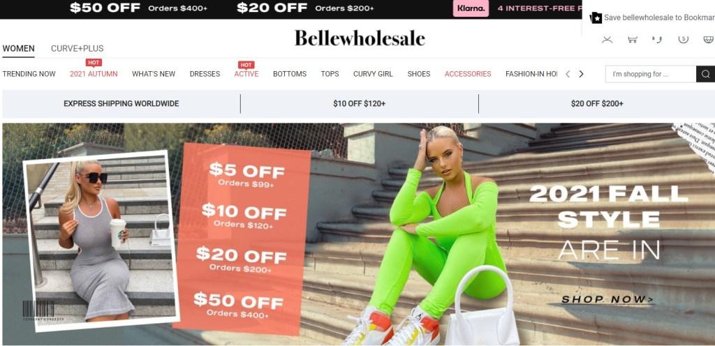 Belle Wholesale US wholesale dropshipping supplier