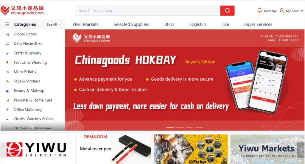 ChinaGoods - one of the cheapest Chinese wholesalers
