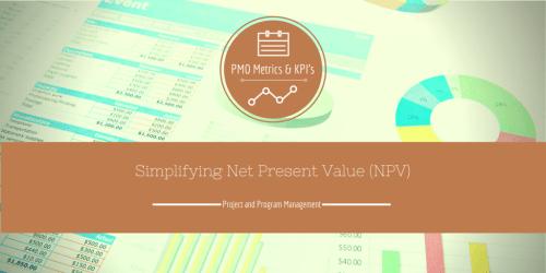 PMO Metrics NPV
