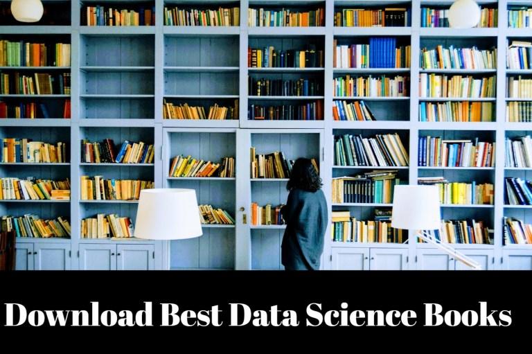 best data science books