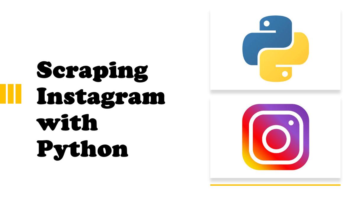 Scraping Instagram