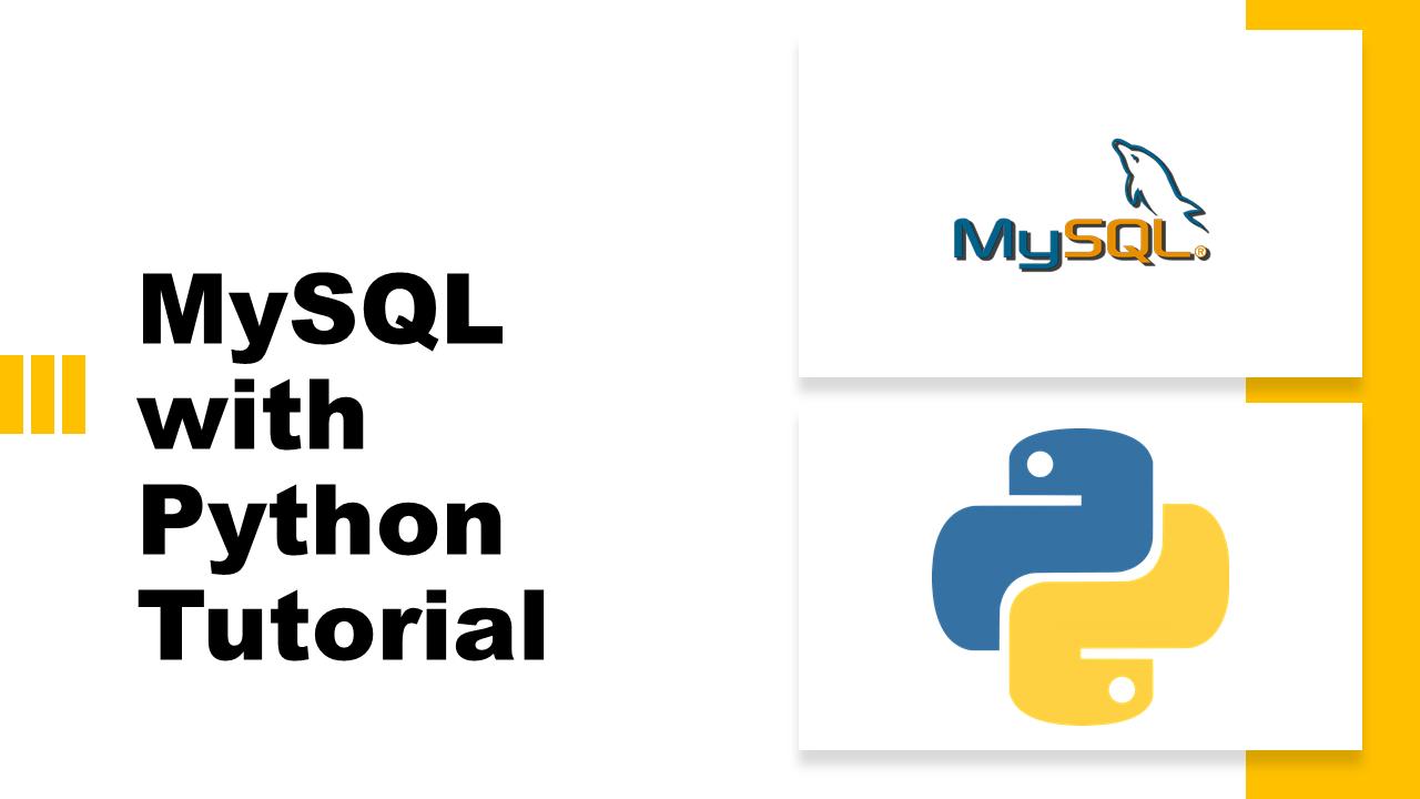 MySQL with Python | Data Science | Machine Learning | Python