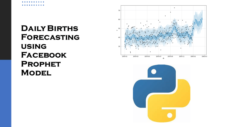 Daily Births Forecasting with Machine Learning