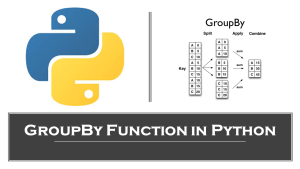 Groupby in Python
