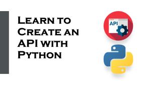 API with Python