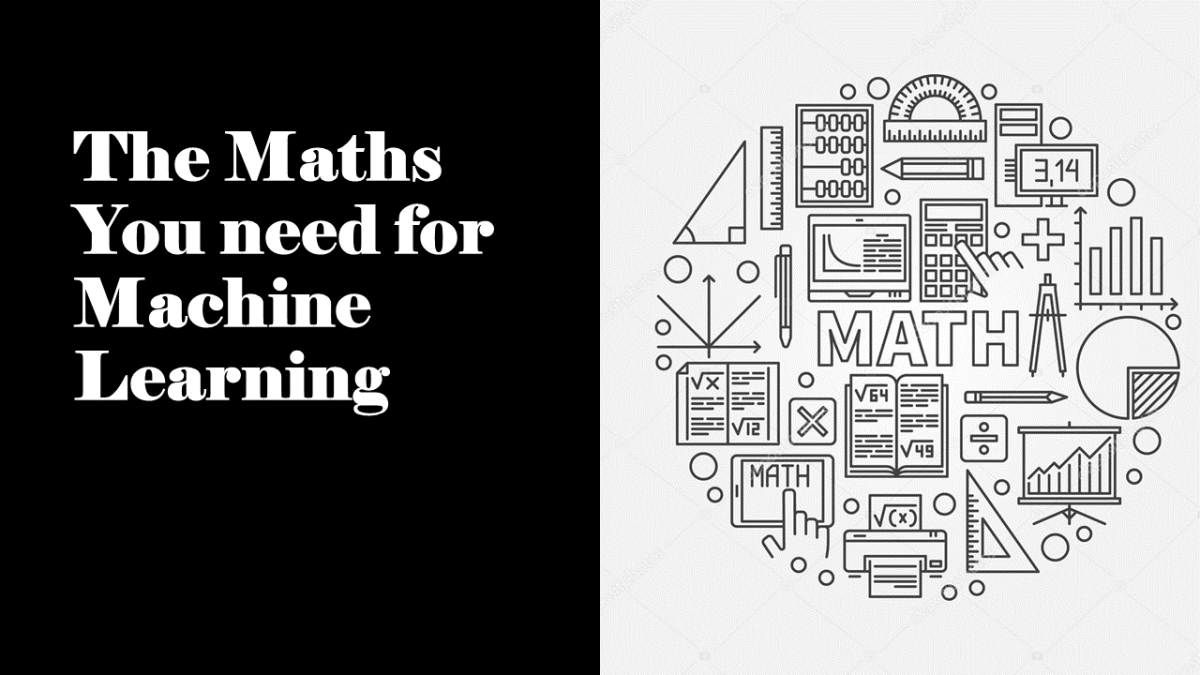 Maths for Machine Learning
