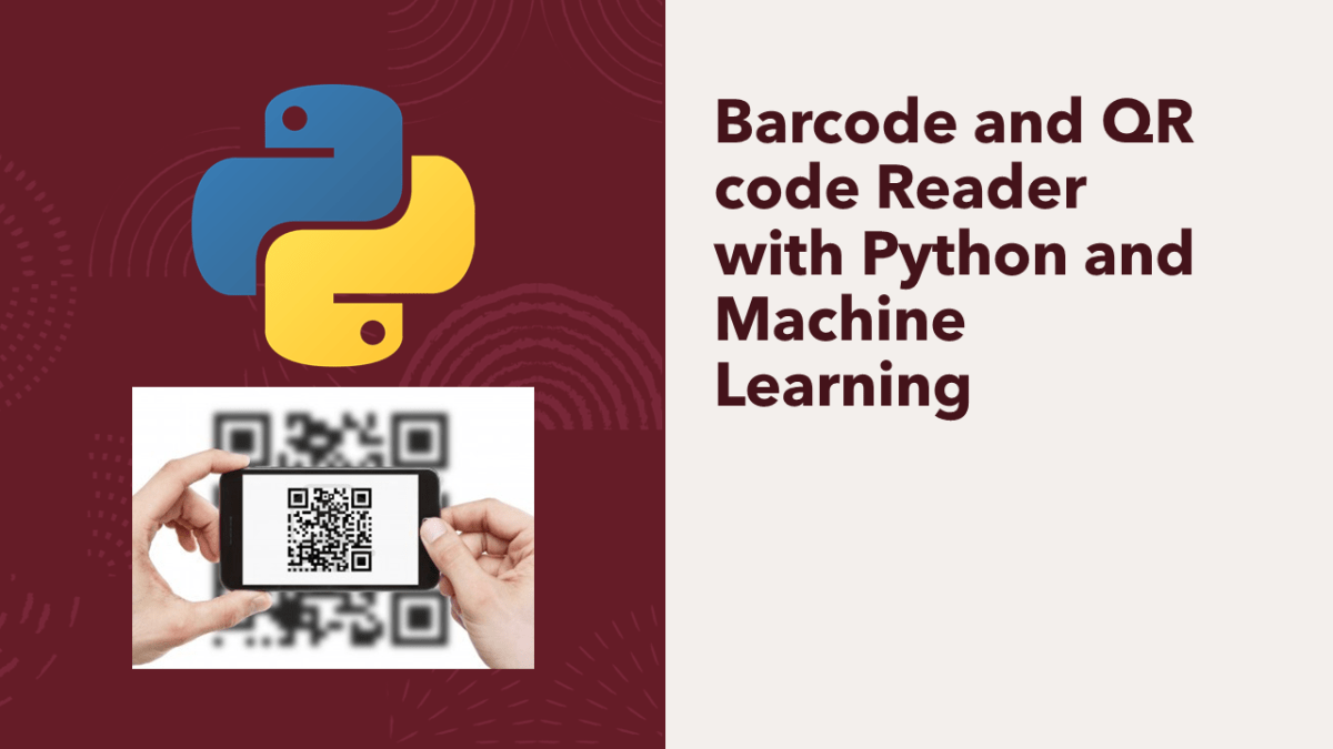 Barcode and QR code Reader with Python