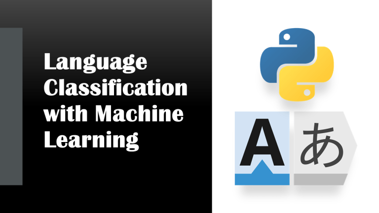 Language Classification with Python