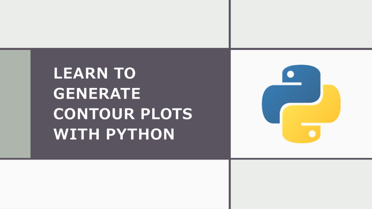 Contour Plots with Python