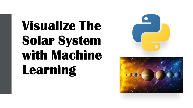 Visualize a Solar System with Python