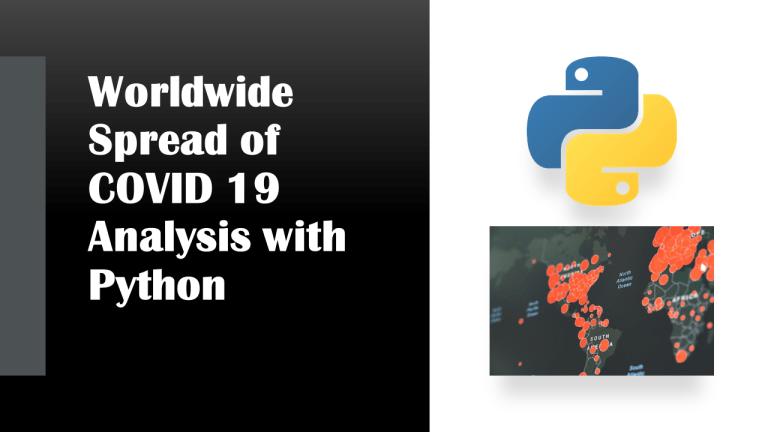 COVID 19 Analysis with Python