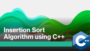 Insertion Sort in C++