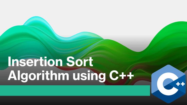 Insertion Sort in C++