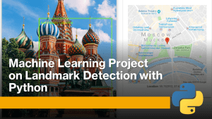 landmark detection with machine learning and python