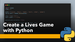 Lives Game with Python