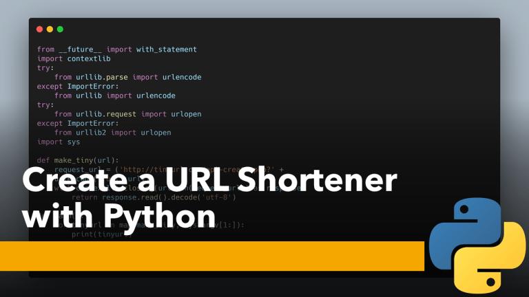 URL Shortener with Python