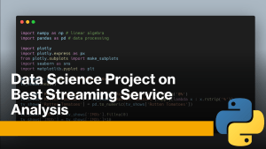 Best Streaming Service Analysis with Python