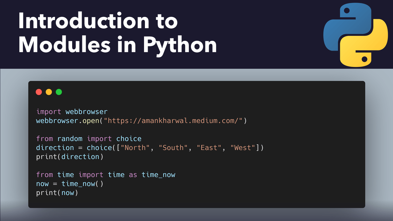What are Modules in Python?