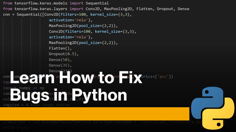 How To Fix Bugs in Python
